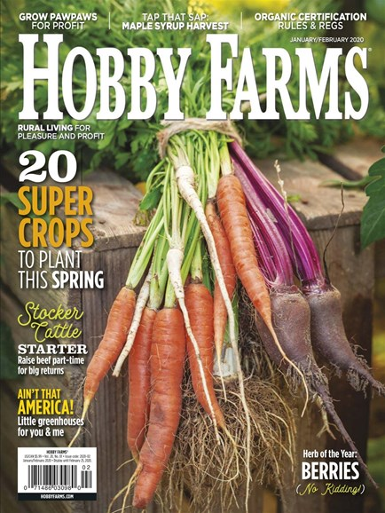 Hobby Farms Cover - 1/1/2020