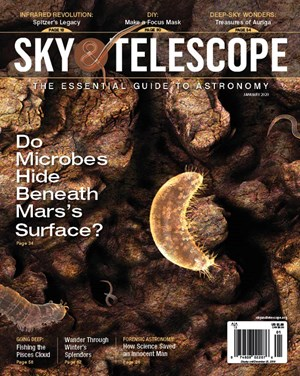 Sky & Telescope Magazine | 1/2020 Cover