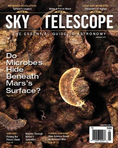 Sky & Telescope Magazine | 1/2020 Cover