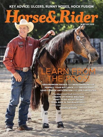 Horse & Rider Cover - 12/1/2019