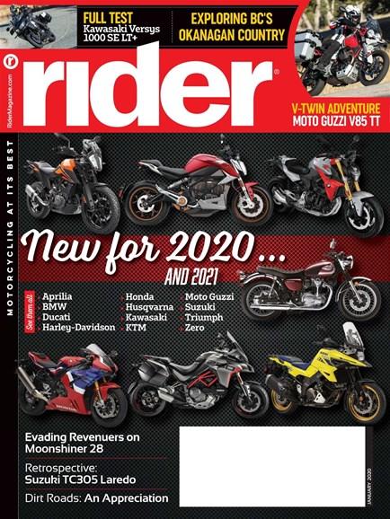 Rider Cover - 1/1/2020