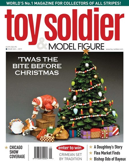 Toy Soldier & Model Figure Cover - 12/1/2019