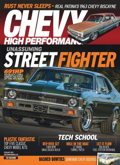 Chevy High Performance Cover - 2/1/2020