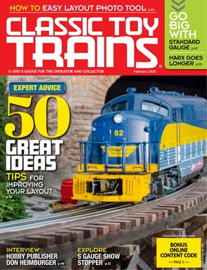 Classic Toy Trains Magazine | 2/2020 Cover