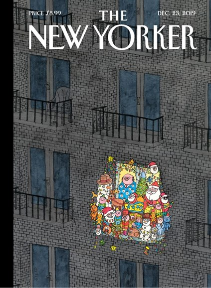 The New Yorker Cover - 12/23/2019