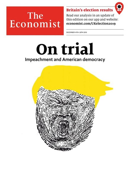 The Economist Cover - 12/14/2019