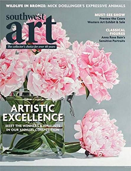 Southwest Art Cover - 12/1/2019