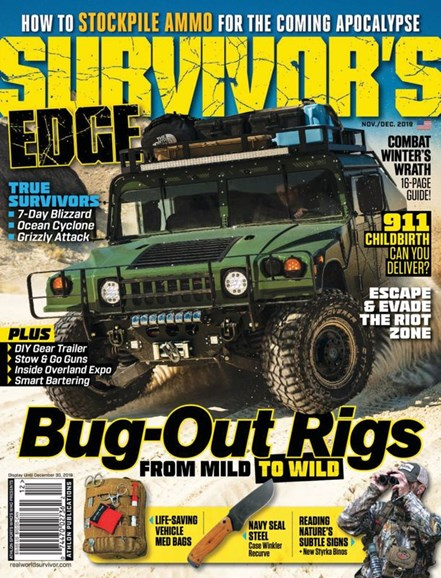Survivor's Edge Cover - 11/1/2019