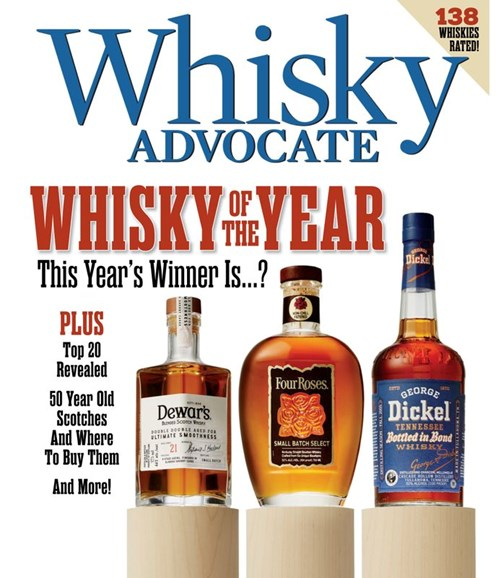 Whisky Advocate Cover - 12/1/2019