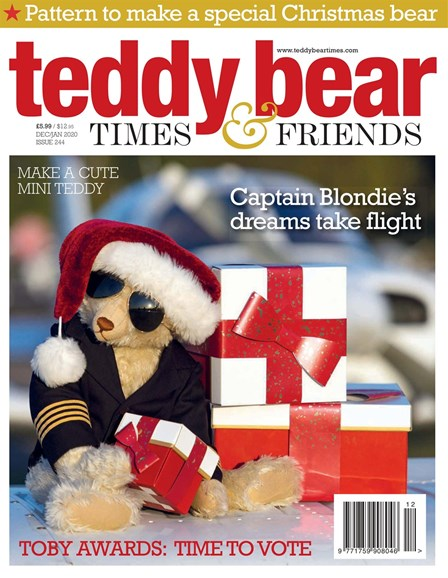Teddy Bear Times & Friends Cover - 12/1/2019