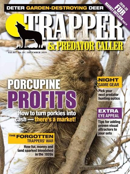 Trapper & Predator Caller Cover - 12/1/2019