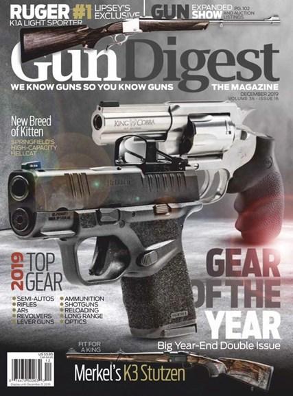 Gun Digest Cover - 12/1/2019