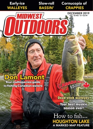 Midwest Outdoors Magazine | 12/2019 Cover