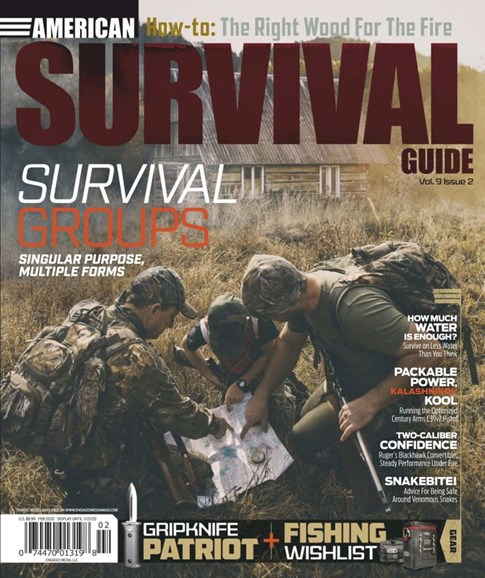 American Survival Guide Cover - 2/1/2020