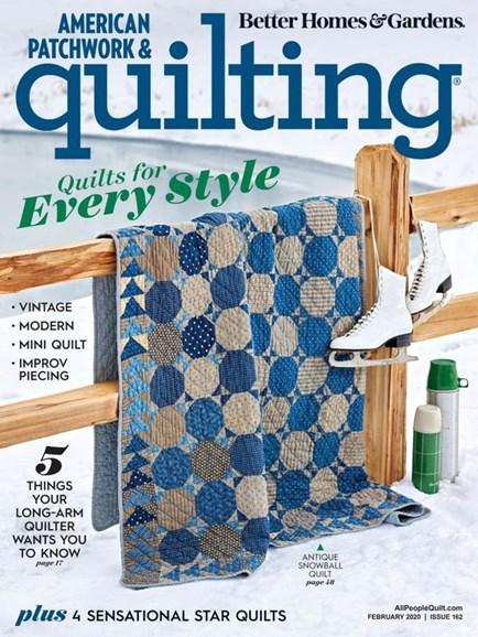 American Patchwork & Quilting Cover - 2/1/2020