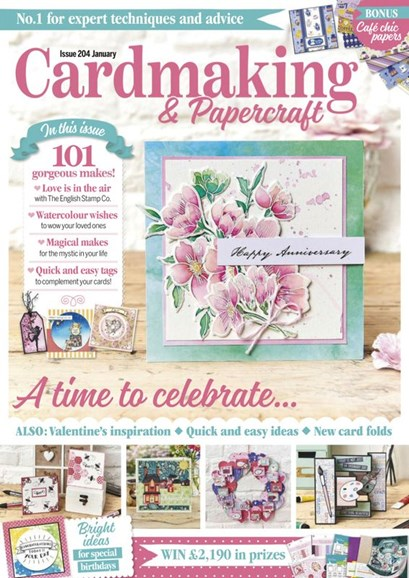 CardMaking & PaperCrafts Cover - 1/1/2020