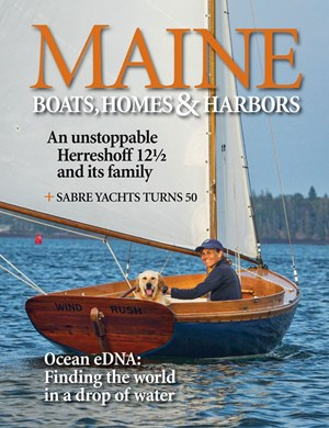 Maine Boats, Homes & Harbors Magazine | 11/2019 Cover
