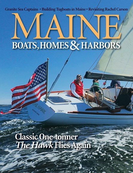 Maine Boats, Homes & Harbors Cover - 9/1/2019