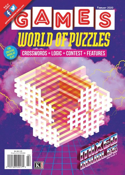 Games World of Puzzles Cover - 2/1/2020