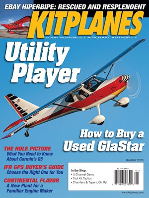 Kit Planes Magazine | 1/2020 Cover