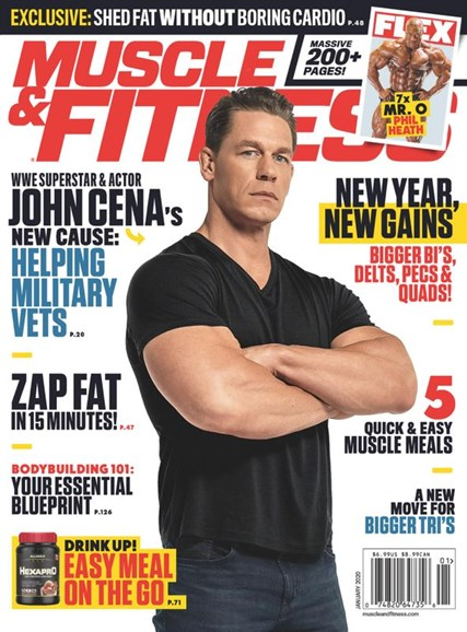 Muscle & Fitness Cover - 1/1/2020