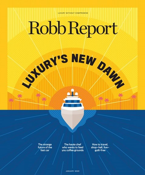 Robb Report Cover - 1/1/2020