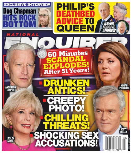 National Enquirer Cover - 1/13/2020