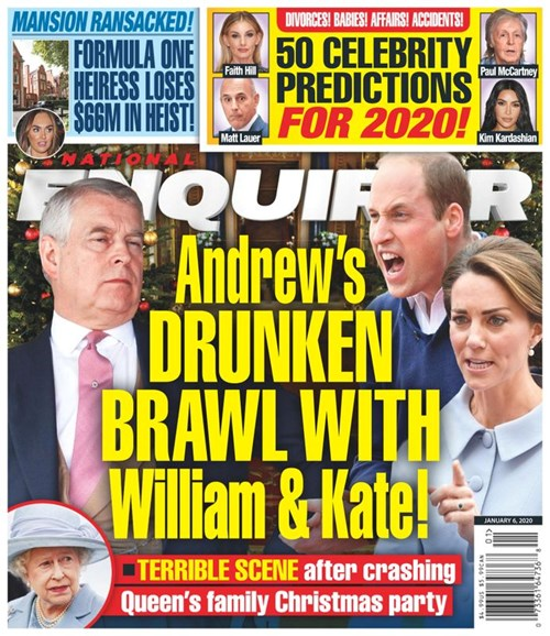 National Enquirer Cover - 1/6/2020
