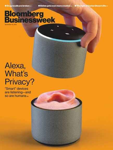 Bloomberg Businessweek Cover - 12/16/2019