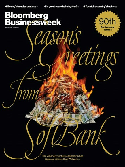 Bloomberg Businessweek Cover - 12/23/2019