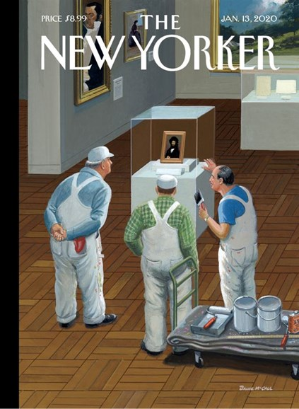 The New Yorker Cover - 1/13/2020