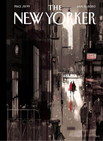 The New Yorker Cover - 1/6/2020
