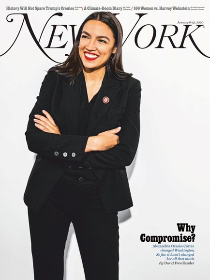 New York Magazine Cover - 1/6/2020