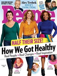 People Magazine   1/13/2020 Cover