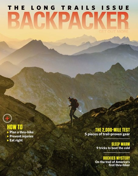 Backpacker Cover - 1/1/2020