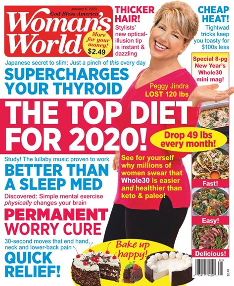 Woman's World Cover - 1/6/2020