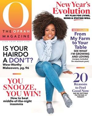 O The Oprah Magazine | 1/2020 Cover