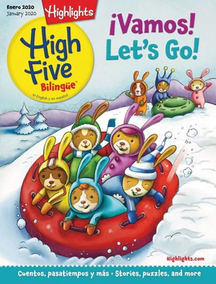 Highlights High Five Bilingue Cover - 1/1/2020