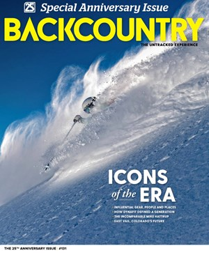 Backcountry Magazine | 3/2020 Cover