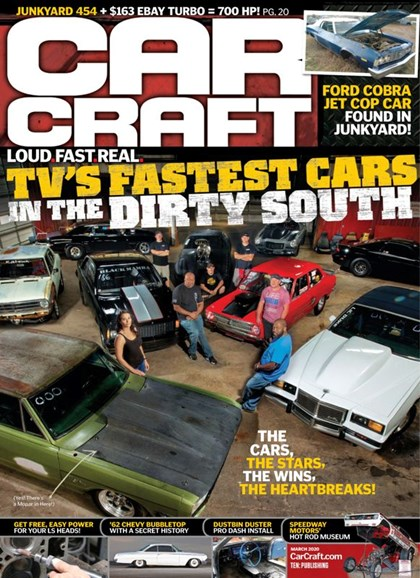 Car Craft Cover - 3/1/2020