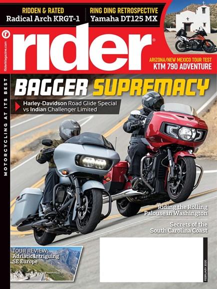 Rider Cover - 2/1/2020