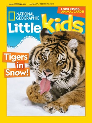 National Geographic Little Kids Magazine | 1/2020 Cover
