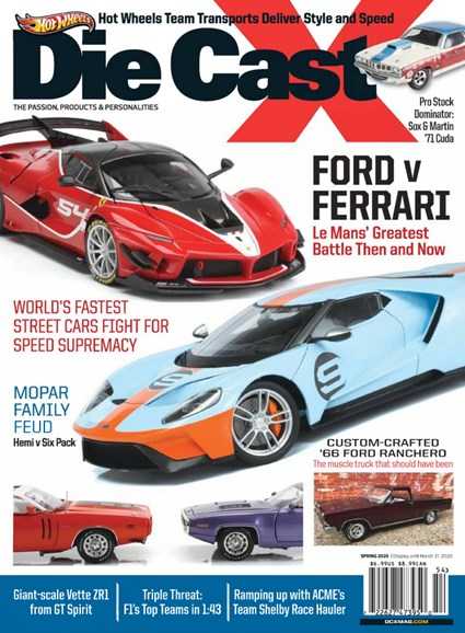 Diecast X Cover - 3/1/2020