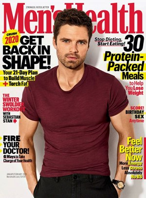 Men's Health Magazine | 1/2020 Cover