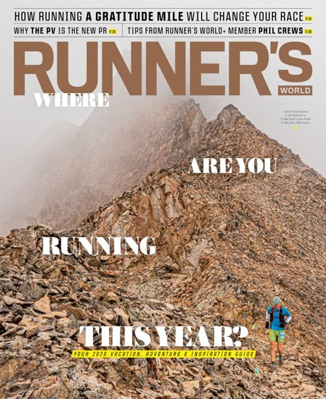 Runner's World Cover - 1/1/2020