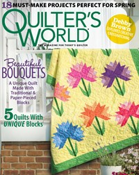 Quilter's World Magazine | 3/2020 Cover
