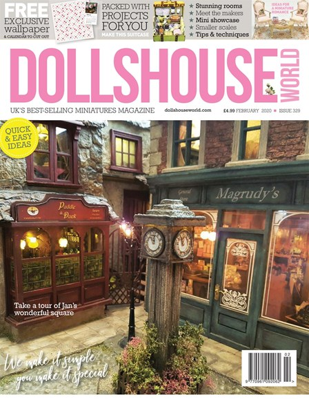Dolls House World Cover - 2/1/2020
