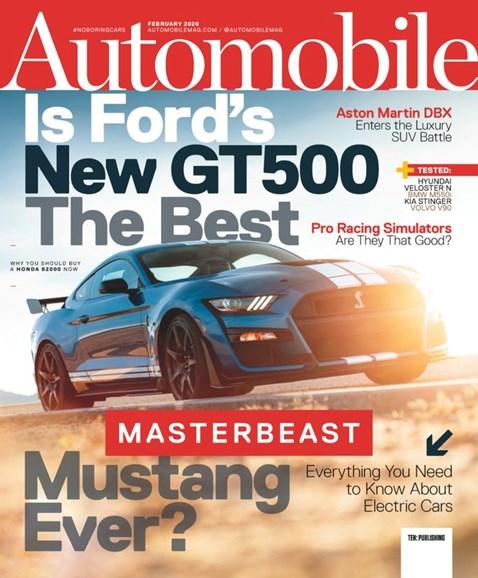 Automobile Cover - 2/1/2020