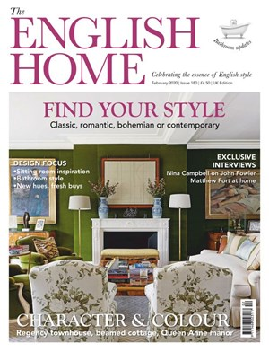 English Home Magazine | 2/2020 Cover