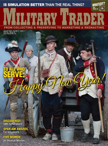 Military Trader Cover - 1/1/2020